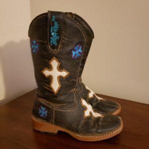 Blazin Roxx ZipUp Boots size 9